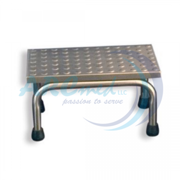 Single Step Foot Stool with Embossed Sheet - Medic...