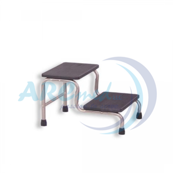 Double Step Foot Stool - Medical Footstool for Hos...