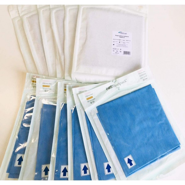 Drape Without Adhesive 75 x 90cm - Pack of 12pcs