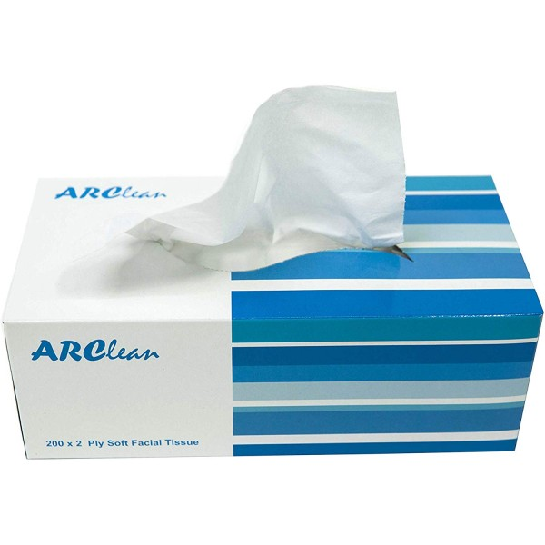 ARClean Facial Tissue 200x2Ply Pack of 30