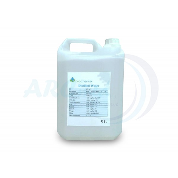 HIPURE Distilled Water 5000ml