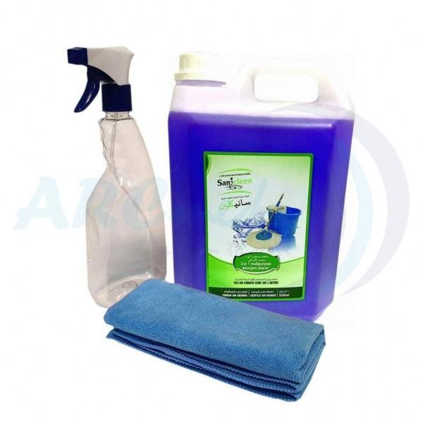 3 in 1 Multipurpose Cleaner + 1 Empty Spray Bottle...