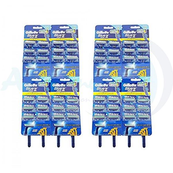 GiIlette Blue 2 Plus Razors 2X48