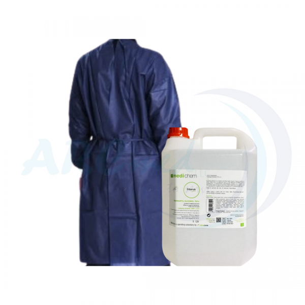 Protection Duo Cibarub Alcohol Isopropyl 70% Solut...