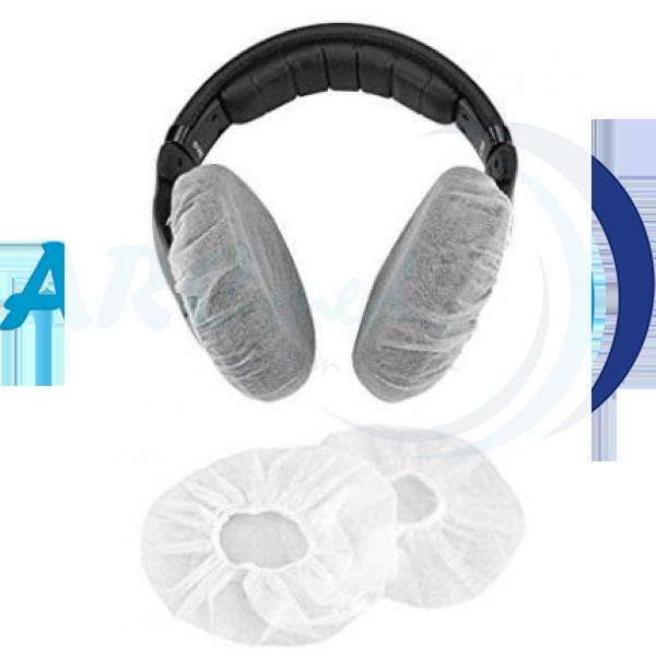 HYGIEIA Disposable Earphone / Headset Cover 100's - Black