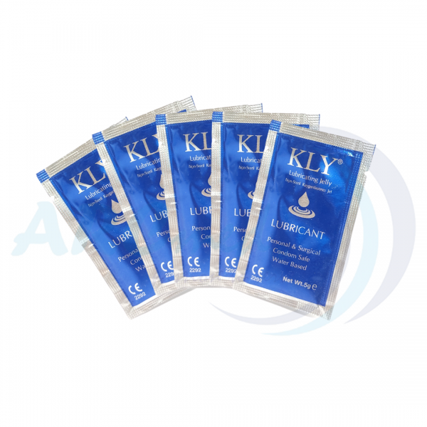 KLY Water-Based Solutions Lubricating Jelly 82g + 10pcs 5g in bundle