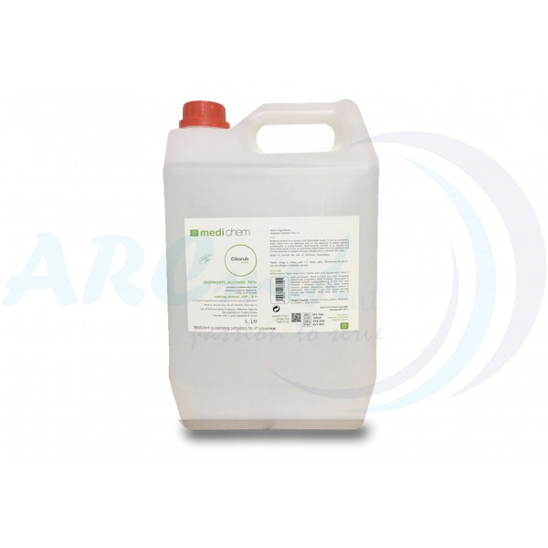 Isopropyl Alcohol 70% Solution 5L - Medichem