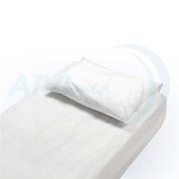 HYGIEIA Disposable Fitted Bedsheets, Waterproof 10's - White 120x240cm