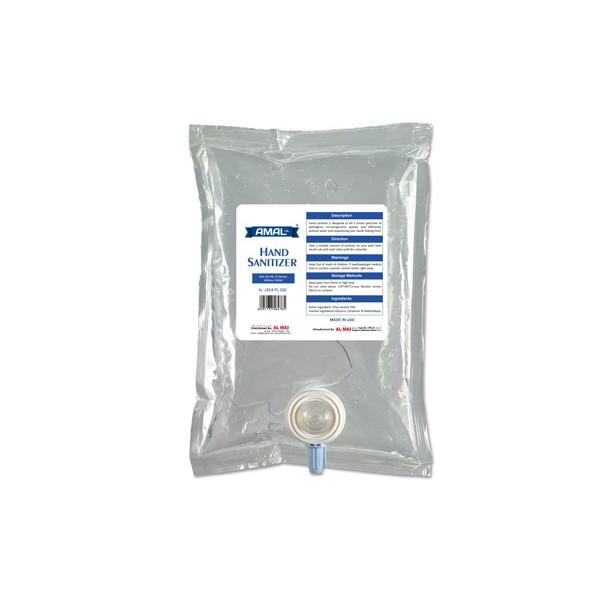 Amal Hand Sanitizer Gel 1L refill pouch