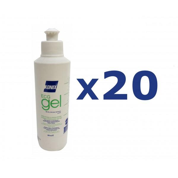 KONIX ECG Gel 250ml 20pcs /Box