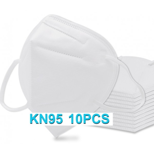 KN95 Face Masks 10pcs/pack CE Certified - White