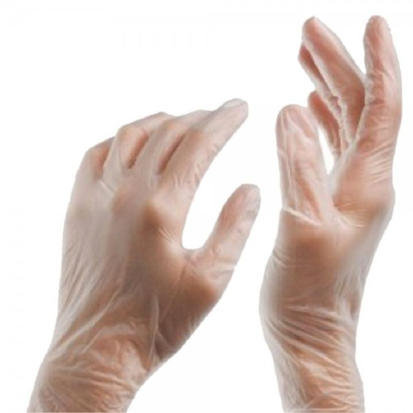 Vinyl Gloves Powder Free - Medium