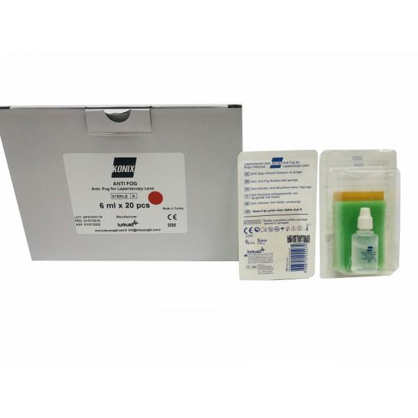 Konix Antifog Laparoscopy Lens 12pcs/ Pack