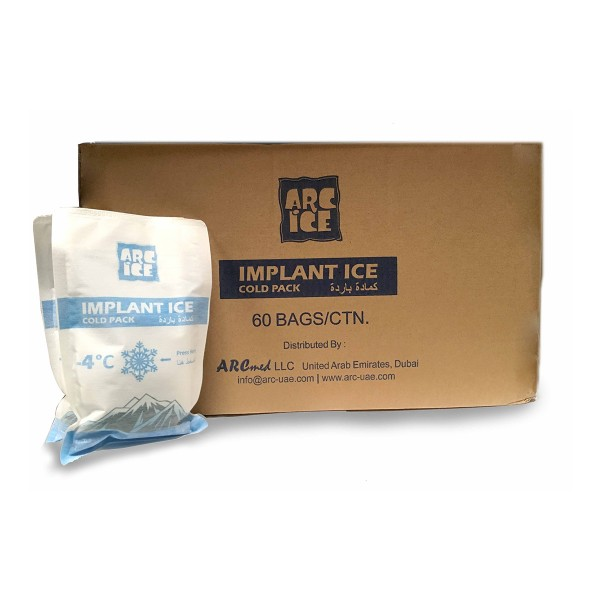 ARC ICE Instant Cold Pack - 60pcs/ctn