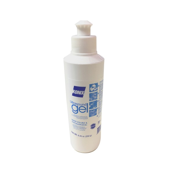KONIX Ultrasound Gel 250ml Bottle